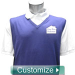 Personalized Embroidered Sweater Vest