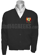 Gamma Psi Epsilon Crest Cardigan, Black