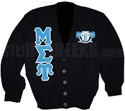 Custom Mu Sigma Upsilon Cardigan Sweater