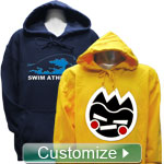 Personalized Embroidered Pullover Hoodie Sweatshirt