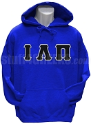 Iota Lambda Pi Greek Letter Pullover Hoodie Sweatshirt, Royal Blue