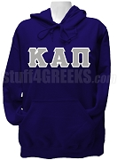 Kappa Alpha Pi Ladies Greek Letter Pullover Hoodie Sweatshirt, Navy Blue