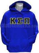 Kappa Sigma Pi Greek Letter Pullover Hoodie Sweatshirt, Royal Blue