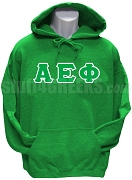 Alpha Epsilon Phi Greek Letter Pullover Hoodie Sweatshirt, Kelly