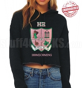HXCHELLA Homecoming 2019 Crop Top Hoodie - Embroidered with Lifetime Guarantee