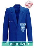 Custom World Ventures Blazer - Embroidered With Lifetime Guarantee