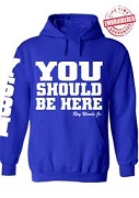 World Ventures Pullover Hoodie - Embroidered with Lifetime Guarantee