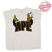 APE T-Shirt - EMBROIDERED with Lifetime Guarantee