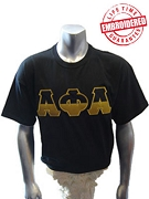Alpha Phi Alpha Half Letters - EMBROIDERED with Lifetime Guarantee