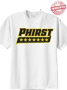Phirst T-Shirt - EMBROIDERED with Lifetime Guarantee
