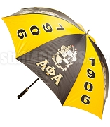 Alpha Phi Alpha Jumbo Greek Letter Umbrella with Founding Year and Crest (SAV)