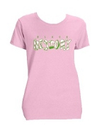 Alpha Kappa Alpha Black History Screen Printed T-Shirt, Pink
