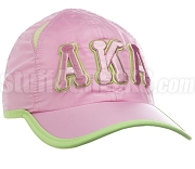 Alpha Kappa Alpha Greek Letter Featherlight Golf Cap, Pink (SAV)