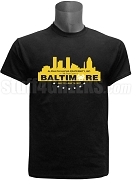 Alpha Phi Alpha 2017 Baltimore Conference Screen Printed T-Shirt, Black