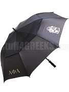 Alpha Phi Alpha Letter Umbrella with Crest (SAV)