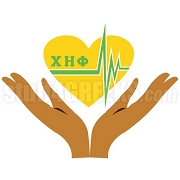 Chi Eta Phi Heartbeat Patch With Hands