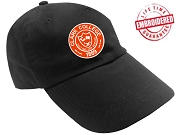 Clark College Baseball Cap with Logo, Black