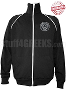 Clark College Men's Logo Track Jacket, Black - EMBROIDERED with Lifetime Guarantee
