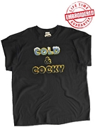 Cold & Cocky Black T-Shirt - EMBROIDERED with Lifetime Guarantee