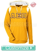 Embroidered Custom Greek Men's Elite Performance Pullover Hoodie