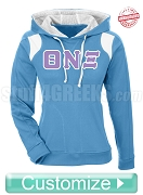 Embroidered Custom Greek Women's Elite Performance Pullover Hoodie