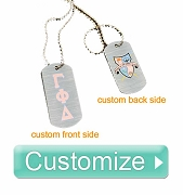 Custom Sublimated Dog Tag