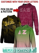 Custom Full-Color Edge-to-Edge Sublimated Greek Pullover Hoodie (TW S0220)