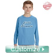 Custom Long Sleeve FratBrat Athletic Performance T-Shirt - EMBROIDERED with Lifetime Guarantee (BB)