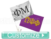 Custom Dye-Sublimated Car Flag (10