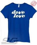 Dove Love #2, Royal - EMBROIDERED with Lifetime Guarantee