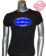 Dove Love T-Shirt, Black - EMBROIDERED with Lifetime Guarantee