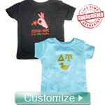 Custom Embroidered FratBrat® T-Shirt - EMBROIDERED with Lifetime Guarantee