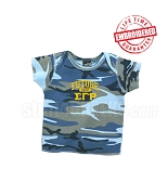 Future Sigma Gamma Rho Camo T-shirt - EMBROIDERED with Lifetime Guarantee