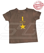 I was born to be a Star T-shirt - EMBROIDERED with Lifetime Guarantee