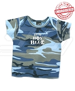 Little Boy Blue Phi Beta Sigma Camo T-shirt - EMBROIDERED with Lifetime Guarantee