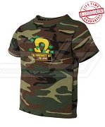 A Product of P/G Love Camo T-shirt - EMBROIDERED with Lifetime Guarantee