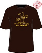Brown/Gold Ace Club (Generation 1) T-shirt, Brown - EMBROIDERED with Lifetime Guarantee