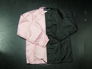 Clearance: Pink/Black Two-Tone Coaches Jacket, Size SMALL, Blank
