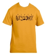 Iota Phi Theta Black History Screen Printed T-Shirt, Gold