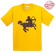 Centaur T-Shirt, Gold - EMBROIDERED with Lifetime Guarantee