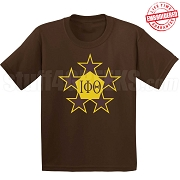 Iota Pentastar T-Shirt - EMBROIDERED with Lifetime Guarantee