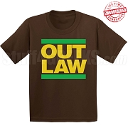 Iota Phi Theta RUN DMC T-Shirt, Brown - EMBROIDERED with Lifetime Guarantee