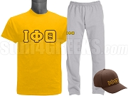 Iota Phi Theta Sports Package - INCLUDES ATHLETIC PANTS, PERFORMANCE SHIRT & LIGHTWEIGHT HAT