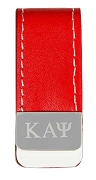 Kappa Alpha Psi Leather Money Clip