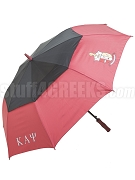 Kappa Alpha Psi Letter Umbrella with Crest (SAV)