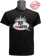 Kappa Alpha Psi Mu Theta Chapter MTV Nupes T-Shirt, Black - EMBROIDERED with Lifetime Guarantee