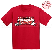 Pretty Boy Inc. T-Shirt, Red - EMBROIDERED with Lifetime Guarantee