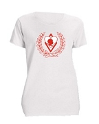 Kappa Alpha Psi Silhouette Screen Printed T-Shirt, White