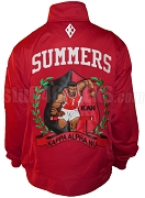 Kappa Alpha Psi Frank Summers Track Jacket, Embroidered with Lifetime Guarantee (AUG)
