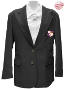 Kappa Epsilon Psi Blazer Jacket with Crest, Black